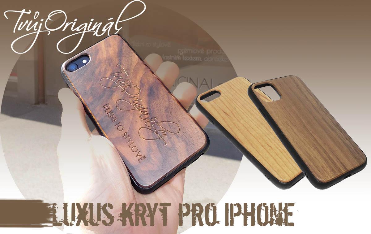 Luxusní dřevěná pouzdra s tvým textem