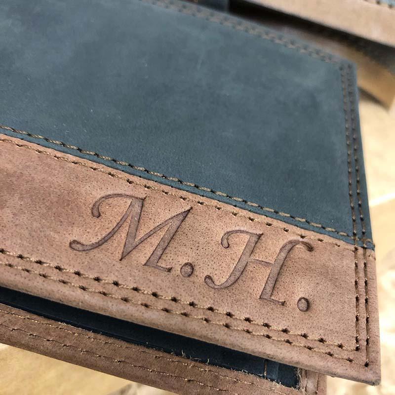 Luxusní set COMBO pásku a peněženky s vlastním monogramem