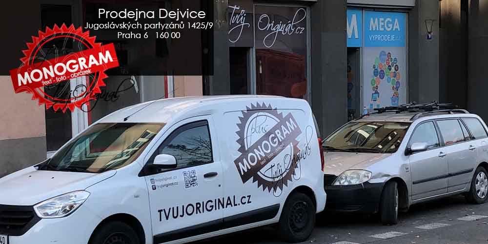 Prodejna TVUJORIGINAL.cz - Dejvice